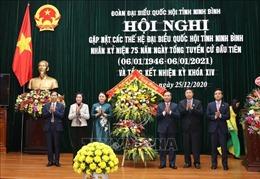 Đóng góp của đại biểu Ninh Bình hòa vào thành tích chung của Quốc hội Việt Nam