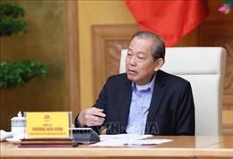 Phó Thủ tướng Trương Hòa Bình chỉ đạo xử lý các dự án yếu kém ngành công thương