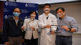 Khẩu trang được làm từ tấm màng nano polymer siêu mỏng