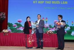 Lai Châu bầu chức danh chủ chốt của HĐND tỉnh