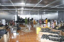 Lào Cai thu giữ hàng nghìn sản phẩm hàng hóa không rõ nguồn gốc