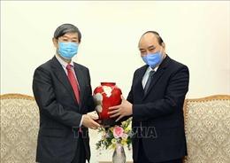 Thủ tướng Nguyễn Xuân Phúc tiếp Chủ tịch Cơ quan Hợp tác quốc tế Nhật Bản