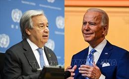 TTK LHQ và ông Joe Biden trao đổi về đại dịch COVID-19 và biến đổi khí hậu