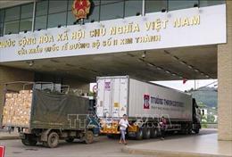 Thêm 580 tấn nông sản Việt Nam xuất khẩu sang Trung Quốc