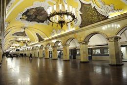 Thủ đô Moskva xây mới hơn 60 ga tàu điện ngầm trong 5 năm tới