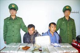 Điện Biên bắt 2 đối tượng vận chuyển trái phép 120.000 viên ma túy tổng hợp
