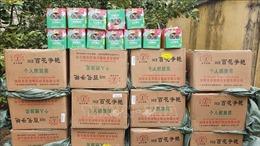 Nghệ An: Bắt xe khách vận chuyển 840 kg pháo hoa