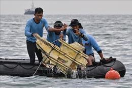 Phát hiện trục trặc ở hệ thống ga tự động của động cơ máy bay rơi ở Indonesia