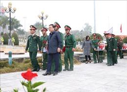 Truy điệu và an táng hài cốt liệt sĩ quân tình nguyện Việt Nam hy sinh tại Lào
