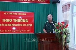 Trao thưởng thành tích phòng, chống ma túy và tội phạm tại khu vực phía Nam