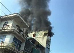 Quảng Ninh: Đốt vàng mã gây cháy nhà