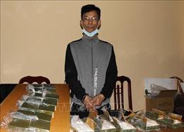 Bắt giữ đối tượng vận chuyển 14 bánh heroin