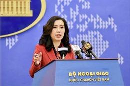 Người Phát ngôn Bộ Ngoại giao: Đảm bảo an toàn và quyền lợi cho các thuyền viên Việt Nam