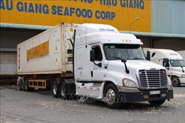 Xuất khẩu lô tôm đầu tiên năm 2021