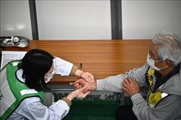 Việc tiêm chủng cho người cao tuổi ở Nhật Bản được tiến hành dần dần