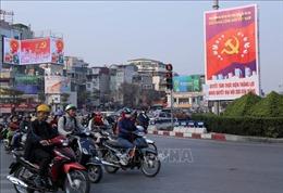 Hà Nội thực diễn phương án dẫn đoàn phục vụ Đại hội XIII của Đảng