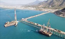 Đẩy nhanh thi công dự án Cảng biển tổng hợp Cà Ná