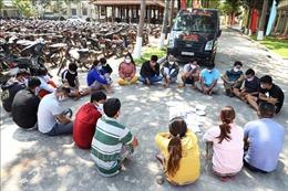 Tây Ninh: Tạm giữ 21 đối tượng lắc tài xỉu ăn tiền