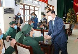 Bộ trưởng Đinh Tiến Dũng thăm, chúc Tết tại Nho Quan, Ninh Bình