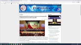Báo PathetLao khẳng định ý nghĩa thành công của Đại hội Đảng hai nước Việt Nam - Lào