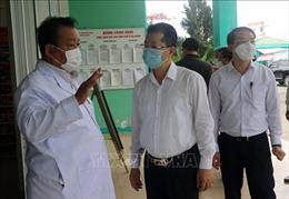 Bí thư Thành ủy Đà Nẵng thị sát tình hình điều trị bệnh nhân mắc COVID-19