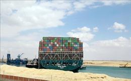 Ai Cập cung cấp thêm thông tin nguyên nhân tàu mắc cạn ở kênh đào Suez