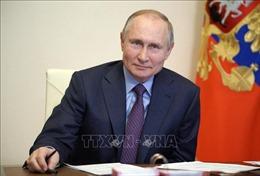 Tổng thống Nga trao tặng Huân chương Hữu nghị cho Đại sứ và các tướng lĩnh QĐND Việt Nam