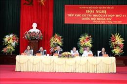 Đoàn đại biểu Quốc hội tỉnh Yên Bái tiếp xúc cử tri huyện Văn Chấn và Trạm Tấu