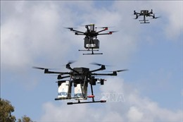 Israel thử nghiệm điều phối máy bay không người lái giao hàng