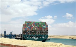 Giá dầu thô giảm mạnh khi công tác giải cứu tàu Ever Given đạt tiến triển