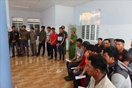 Khởi tố 37 đối tượng phá rừng tại Khu bảo tồn thiên nhiên Ea Sô, Đắk Lắk