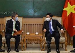 Phó Thủ tướng Chính phủ Phạm Bình Minh tiếp Giám đốc điều hành Tập đoàn SMFG