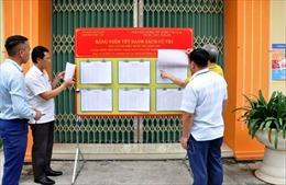 Quảng Ninh đảm bảo an toàn phòng, chống dịch COVID-19 tại các điểm bầu cử