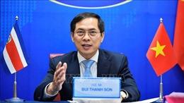 Tăng cường quan hệ hữu nghị và hợp tác giữa Việt Nam và Costa Rica