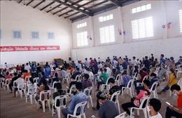 Xu hướng lây lan dịch COVID-19 tại các thành phố lớn của Lào