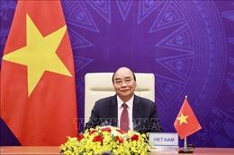 Chủ tịch nước Nguyễn Xuân Phúc tham dự phiên khai mạc Hội nghị Thượng đỉnh về Khí hậu