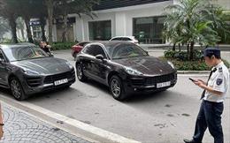 Khẩn trương xác minh chủ nhân của chiếc xe Porsche đeo biển giả