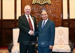 Chủ tịch nước Nguyễn Xuân Phúc tiếp Đại sứ Liên bang Nga Konstantin Vnukov