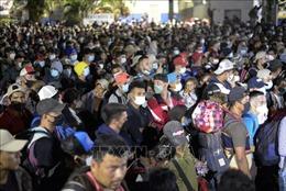 Tổng thống Mỹ hoãn kế hoạch tiếp nhận lượng lớn người di cư