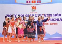 Sôi nổi Ngày hội giao lưu văn hóa Việt Nam - Lào - Campuchia