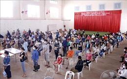 Nhiều tỉnh ở Lào ghi nhận ca mắc mới COVID-19