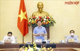 Khai mạc Phiên họp thứ 56 Ủy ban Thường vụ Quốc hội