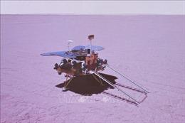 Tàu thăm dò của Trung Quốc gửi hình ảnh từ sao Hỏa