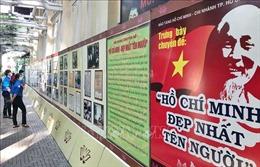 Triển lãm ảnh 'Hồ Chí Minh - Đẹp nhất tên Người'