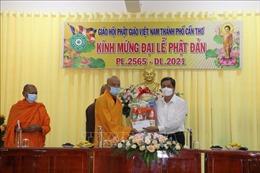 Chúc mừng tăng ni, phật tử nhân đại lễ Phật đản 2021 - Phật lịch 2565