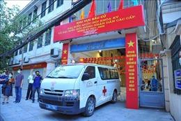 'Đội đặc nhiệm' của Hà Nội lên đường hỗ trợ Bắc Giang chống dịch COVID-19