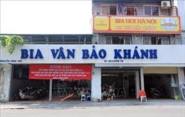 Các nhà hàng bia, quán bia, bia hơi Hà Nội đã tạm dừng để phòng chống COVID-19