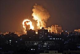 Israel không kích vào nơi ở của các thành viên cấp cao Hamas