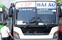 Hà Nội tăng cường xử lý vi phạm chống dịch trong giao thông vận tải