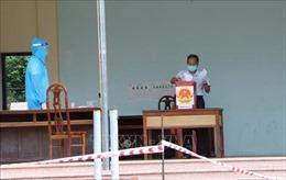 Hoàn thành bầu cử sớm ở Bắc Ninh với 100% cử tri đi bầu